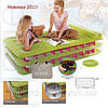 Односпальная надувная кровать Intex 67716 (191х99х47 см.) с электрическим насосом