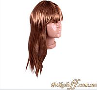 Парик карнавальный женский, прямые волосы