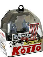 Автолампы Koito WhiteBeam III 4000K H3 2шт.