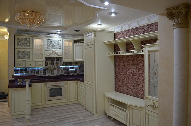 Кухонная мебель в итальянском стиле