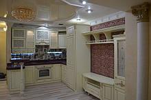 Кухонні меблі в італійському стилі, кухонний гарнітур під замовлення