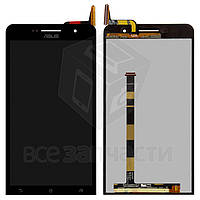 Дисплей Asus ZenFone 6 (A600CG, A601CG) с сенсорным экраном Black (high copy)