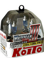 Автолампы Koito WhiteBeam III / 4200K / HB4 / 2шт.