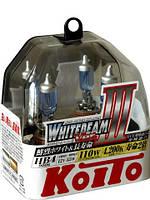 Автолампы Koito WhiteBeam III 4200K HB4, P0757W,  2шт.