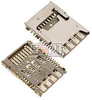Коннектор SIM с коннектором карты памяти LG G G3 D850, G3 D851, G3 D855, G3 LS990 for Sprint, G3 VS98