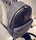 Шикарный женский рюкзак 10L, искусственная кожа URBANSTYLE 103 серый, фото 2