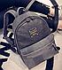 Шикарный женский рюкзак 10L, искусственная кожа URBANSTYLE 103 серый, фото 3