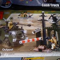 Детский Конструктор 808.     военная серия, фото 1