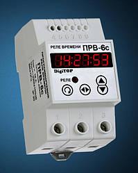 Программируемое реле времени ПРВ-6с (суточный режим) DigiTop
