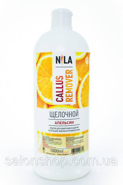 Nila Callus Remover щелочной Апельсин, 1000 мл.