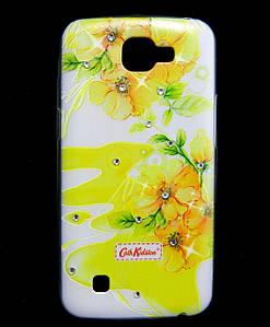 Чехол накладка для LG K4 K130E силиконовый Diamond Cath Kidston, Sun Flowers