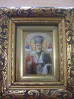 Икона Николай Чудотворец общей размер 130*150