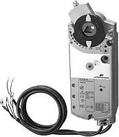 Привод заслонки аналоговый с пружиной, 24В  Siemens GСA161.1E (0-10V), 3м2