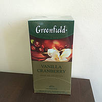 Чай Greenfield Vanilla Cranberry 25 пак.