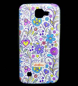 Чехол накладка для LG K4 K130E силиконовый Diamond Cath Kidston, Цветочная фантазия