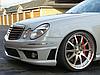 Передний бампер Mercedes W211 тюнинг обвес E63 AMG, фото 7