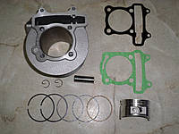 Цилиндр+поршень 180 куб.см.4т скутер (61 p-15 h-69)