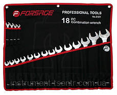 Набор ключей комбинированных Forsage 5181 18 шт