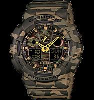 Часы Casio Original G-Shock GA-100CM-5AER камуфляж, фото 1