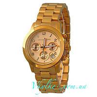 Женские часы Michael Kors золотого цвета