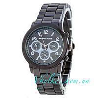 Женские часы Michael Kors черного цвета