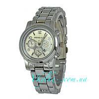 Женские часы Michael Kors серебреного цвета