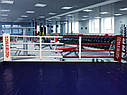 Боксерский ринг на помосте 6*6м, канаты 5*5м., фото 4