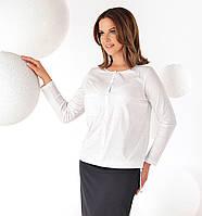 Женская классическая блуза с длинным рукавом. Модель Adison Top-Bis.