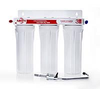 Тройная система очистки воды Экософт Filter 1 FHV-300 Под мойку Против жесткости, купить