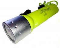 Подводный фонарь QX-1 Original (желт. свет)