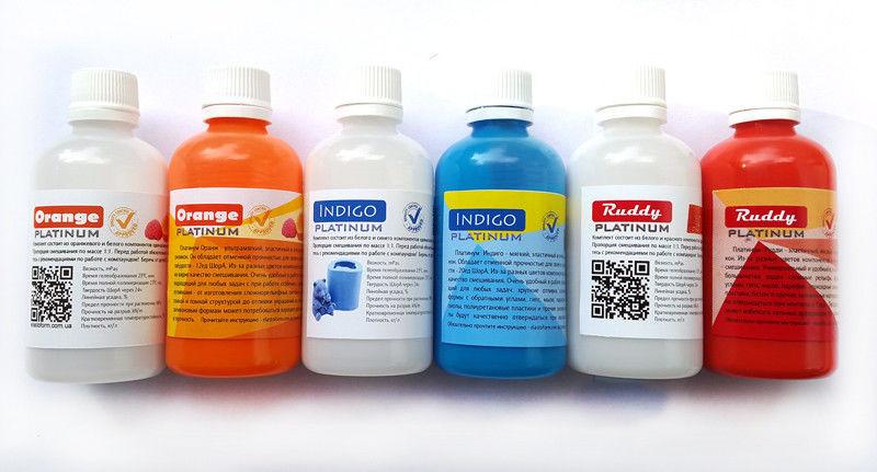 Набор пробников Platinum Orange, Indigo, Ruddy - 3 комплекта по 200г