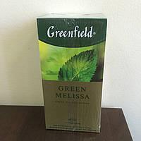 Чай Greenfield Green Melissa 25 пак.