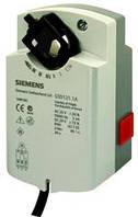 Привод заслонки дискретный, 24В  Siemens GSD121.1A, 0,3м2