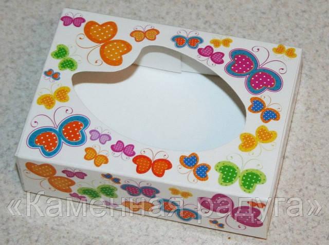 """Коробка """"Бабочки"""" (прямоугольная)"""