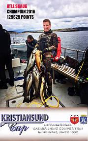 Комментарии о нашей продукции от президента Федерации Подводного Спорта Грузии на Чемпионате: KristiansundCup 2016 - 5-6th of August 25
