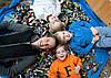 Лего-коврик для конструкторов,лего и игр с ребенком (фиолетовый)