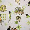 Ткань- Джинс - Комиксы