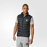 Мужской утепленный жилет Adidas Originals Serrated (Артикул: AZ1356)