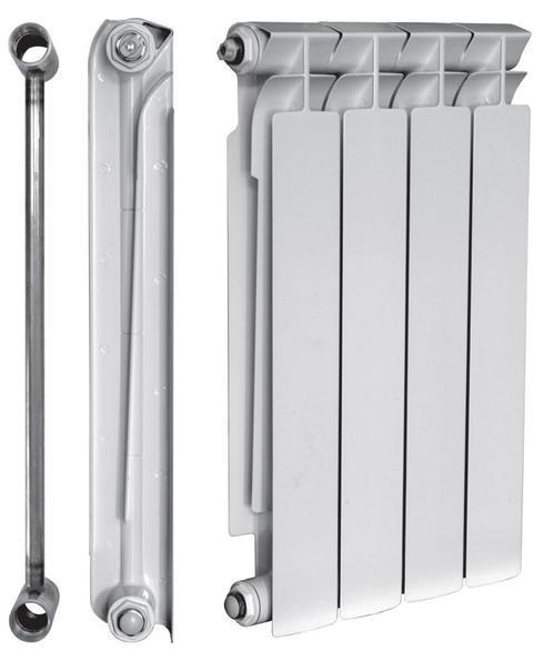 Биметаллический радиатор Ekvator 76/500 (10 секций)