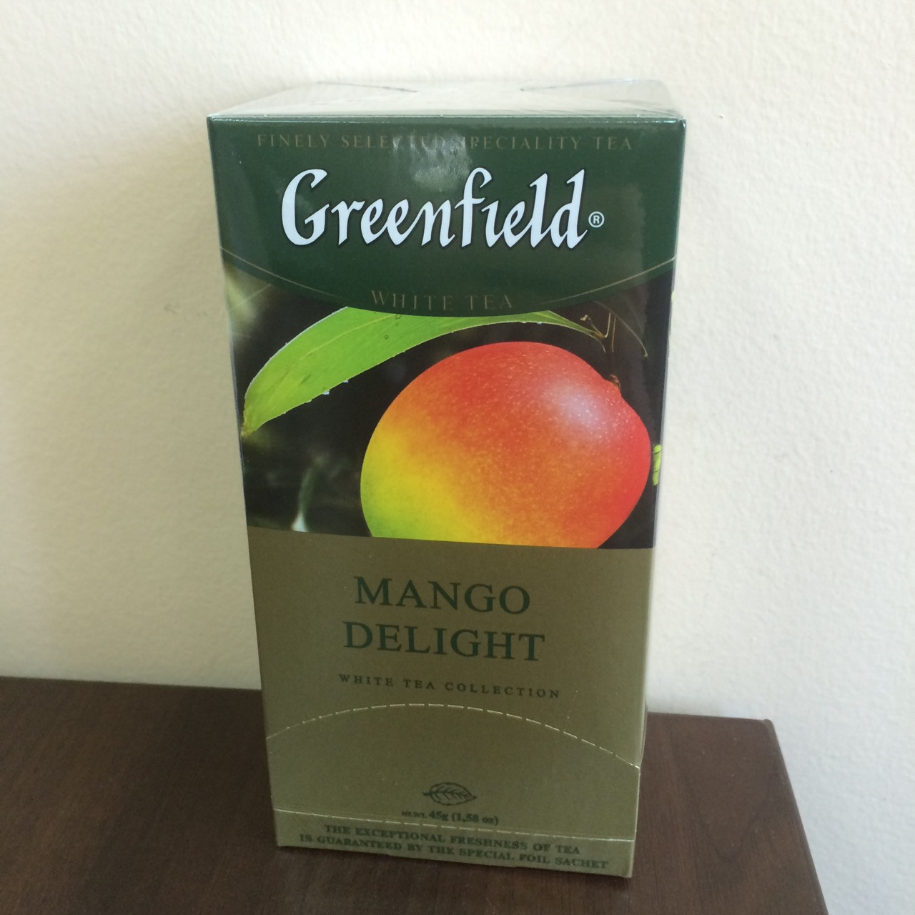 Чай Greenfield Mango Delight 25 пак.