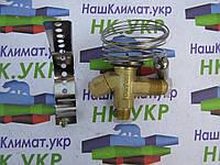 Вентиль терморегулирующий ТРВ danfoss TEF 2 (R12) с внешней уравнительной линией в комплекте с дюзой. (аналог)