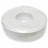 Коаксильные кабель FinMark F 660 BV white бухта 100м
