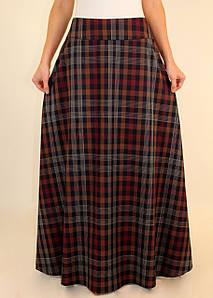 Длинная теплая юбка 44-52 р