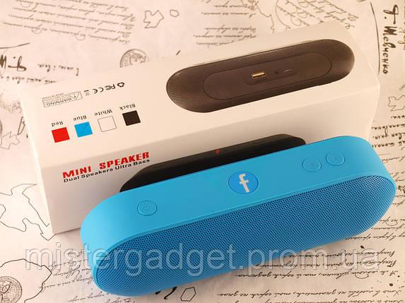Колонка Beats Pill Plus F-Blue 6W Bluetooth Mp3 MicroSD USB H2, фото 2