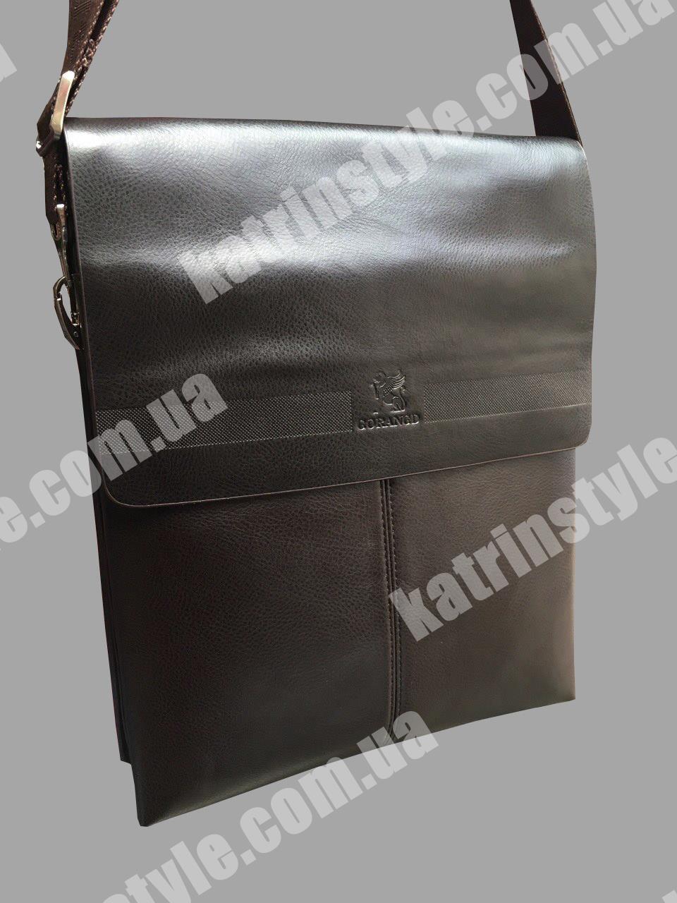 "Мужская сумочка ""Gorangd"" чёрного цвета"