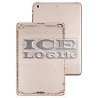 Задняя крышка для планшета Apple iPad Mini 3 Retina, золотистая, (версия Wi-Fi)