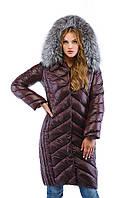 Пальто женское зимнее длинное
