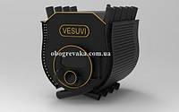 Печь калориферная «VESUVI» с варочной поверхностью «О2» стекло+перфорация