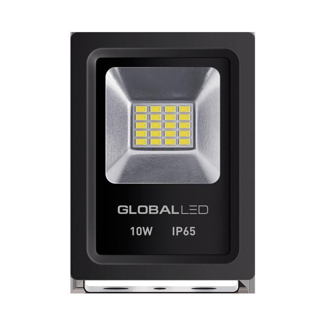 Светодиодный прожектор GLOBAL FLOOD LIGHT 10Вт Холодный белый 5000К