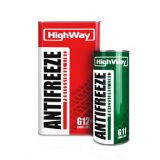 Антифриз HighWay ANTIFREEZE-40 LONG LIFE G11 (зеленый) 5кг 4813593934